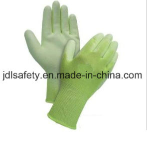 Green Cut Resistant Work Glove (PD8015G) pictures & photos