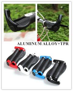 Bicycle Handlebar Sleeve Bicycle Handlebar Set Bicycle Auxiliary Handlebar Bicycle Parts Aluminum Alloy+TPR Bicycle Handlebar Sleeve