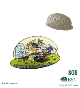 Custom Metal Enamel Hat Pin (XD-B43) pictures & photos