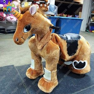 China Ce Plush Animal Electric Riding Toy Scooter Rides From Wholesale Factory pictures & photos