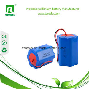 Rechargeable 18650 6600mAh 7.4V Lithium Ion Battery Pack for LED Light