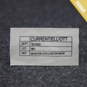 Wholesale Canvas Printed Label pictures & photos