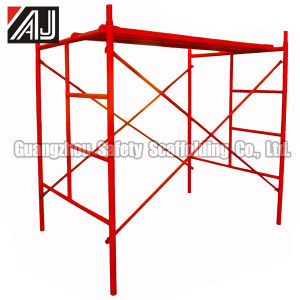 Light Duty Steel Frame Scaffolding, Guangzhou Manufacturer pictures & photos