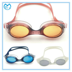 Customized Myopia Swimming Accessories Sports Goggles Prescription Lenses pictures & photos