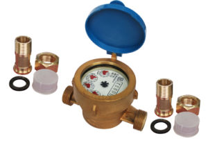Single-Jet Wet-Dial Water Meter