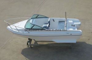 China Aqualand 15feet 4.6m Sports Fishing Boat/Power Boat/Fiberglass Motor Boat (150br) pictures & photos