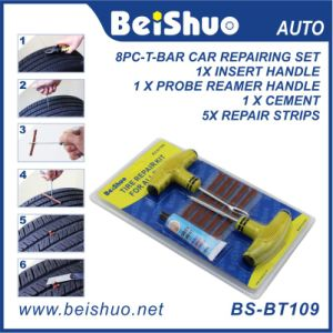 Car Bike Tubeless Flat Tire Repair Tools Kit with Plugs pictures & photos