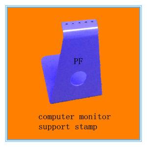 Blue Spray Computer Steel Stand Stamping Process Shenzhen Manuafcturer