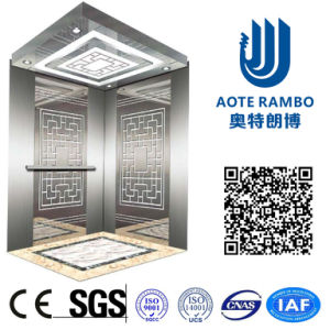 Gearless Traction AC-Vvvf Drive Home Villa Elevator with German Technology (RLS-105) pictures & photos
