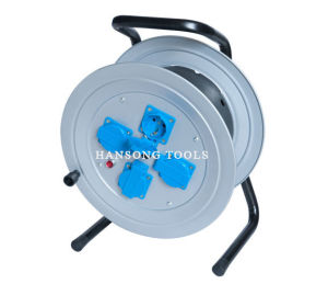 Germany Cable Reel with Rain Cover (HC-122) pictures & photos
