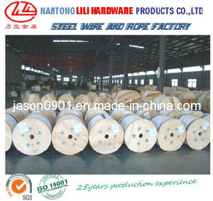 8*7+1*19 Steel Wire Rope for Car Windows Lifting pictures & photos