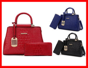 Direct Buy China Wholesale Price Crocodie PU Lady Handbag pictures & photos