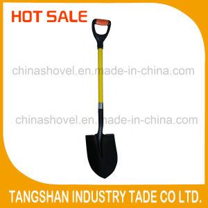 Plastic Grip Fiberglass Handle Point Shovel pictures & photos