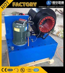 Finn Power Copy Hydraulic Pipe Hose Crimping Machine for Air Susoension for Sale pictures & photos