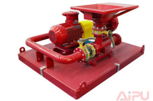 Oilfield Jet Mud Mixer with Mixing Hopper and Centrifugal Pump pictures & photos