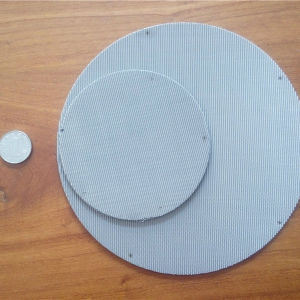 250 Mesh, 0.04 mm Wire, Ss304, 304L, 316, 316L Filter Disc Screen, Extruder Screen, Filter Pack pictures & photos