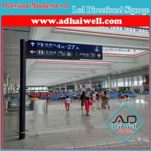 Free Standing Indoor LED Direction Signage pictures & photos