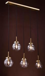 Metal Chandelier with Glass Shade (WHG-654) pictures & photos