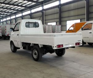 EEC Approved Electric Pickup Truck with One Cab pictures & photos