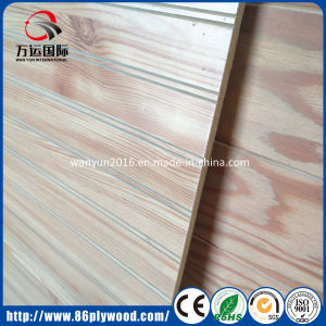 Decorative Panel Grooved Plywood/MDF with U V Slots pictures & photos