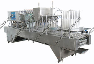 Automatic Cup Filling Sealing Machine with CE Certificate (JND-10C) pictures & photos