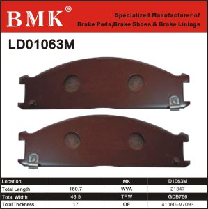 Environment Friendly Brake Pad for Nissan pictures & photos