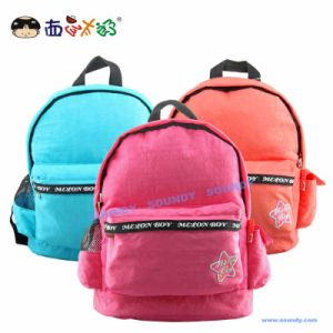 Melon Boy Candy Color Embroderied Logo Handable Kids Backpack/Bag