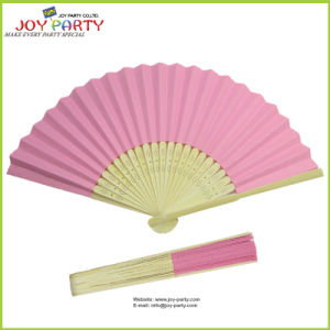 Pink Paper Hand Fan for Wedding