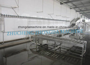 Width Adjustable Poultry Cage Washer of Slaughter Line pictures & photos
