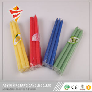 Paraffin Wax White Pillar Candle to Mauritius pictures & photos