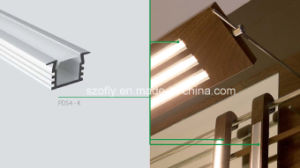 Recessed Aluminum Profile for LED Flexible Lighting pictures & photos