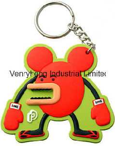 Custom 2D 3D Keychain Soft PVC Keychain Rubber Keychain pictures & photos