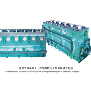 Sinotruck HOWO Truck Spare Parts Auto Accessory Narrow Cylinder Block pictures & photos