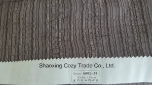New Popular Project Stripe Organza Sheer Curtain Fabric 008233 pictures & photos