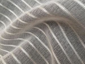 Organza Stripe Sheer Curtain Fabric Upholstery Fabric pictures & photos