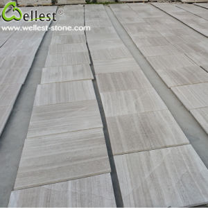 Natural Marble White Wood Marble for Floor/Flooring/Wall Cladding pictures & photos