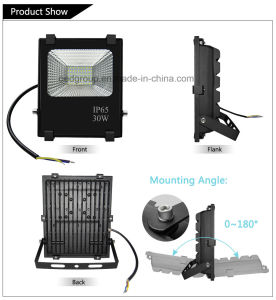 Aluminium AC85-265V 30W LED Flood Light with High Lumen pictures & photos