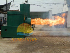 Wide Adaptability Corn Stalk/Wheat Stalk /Peanut Shell Biomass Burner