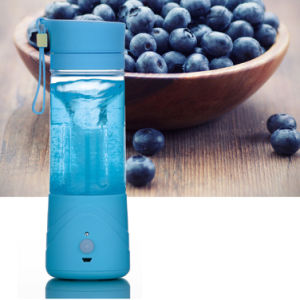 portable USB Electric Charge Juice Maker Cup Plastic Mug Button Pressing Juicer pictures & photos
