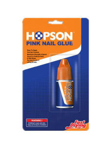 3G Hopson Plastic Bottle Cosmetic Pink Nail Glue (HNG-003P) pictures & photos