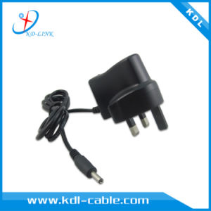 UK Electrical Plug 5V800mA Power Adapter with LED