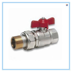 Ball Valve with Natural Surface and Butterfly Handle pictures & photos