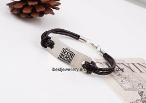 Costume Jewelry-Fashion Leather Bracelet pictures & photos