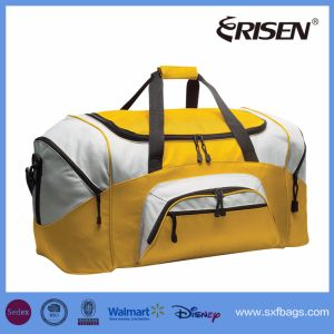 Popular Polyester Sports Travel Gym Shoulder Duffle Bag pictures & photos