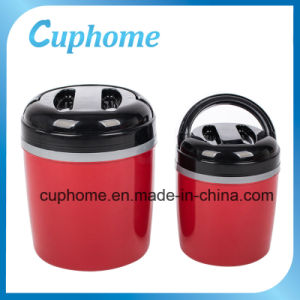 Plastic Container Insulated Lunch Box Food Warmer with S/S Liner