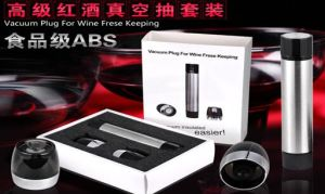 Vacuum Plug for Wine Frese Keeping pictures & photos