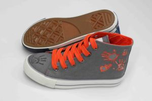 Beauty Design High Cut Canvas Shoes for Children (SNK-02104) pictures & photos