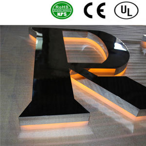 High Quality LED Light Back Lit Channel Letter Signs pictures & photos