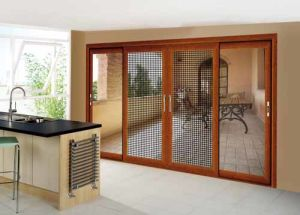 Modern Heavy Sliding Aluminium Glass Interior Doors pictures & photos