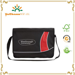 Multi-Functional Convenient Plain Polyester Messenger Bag pictures & photos